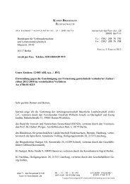 Bundesamt für Verbraucherschutz und ... - Epigen