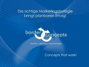 Präsentation Download - border concepts