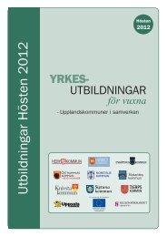 läs om aktuella utbildningar - Navet Utbildning - Uppsala kommun