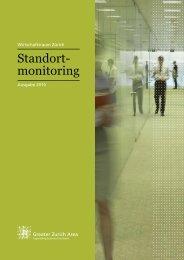 Standortmonitoring 2010 - the Greater Zurich Area.