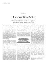 Der verstoßene Sohn - Forum – für Politik, Gesellschaft und Kultur ...