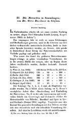 111. Die jneteoriten in Sammlungen; von Dr. Otto Buchner in Giefsen.
