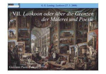 Laokoon - Literaturwissenschaft-online