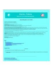 DOWNLOAD Newsletter vom Februar 2013 - Atlantis-Freising