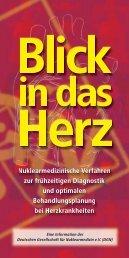 Blick in das Herz - Deutsche Gesellschaft für Nuklearmedizin