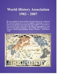 Number 2 - Fall 2007 - World History Association
