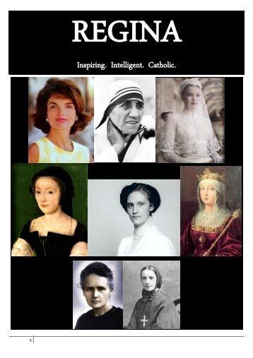 Inspiring. Intelligent. Catholic. - Regina Magazine