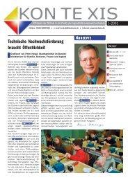 1• 2001 - Technische Jugendfreizeit- und Bildungsgesellschaft