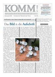 Das Bild & die Aufschrift - Dr. Lothar Gassmann
