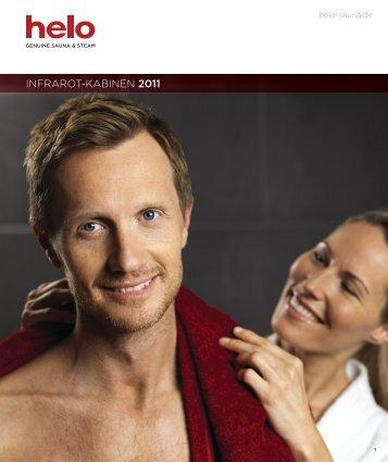 INFRAROT-KABINEN 2011 - Helo Ltd - Genuine Sauna & Steam