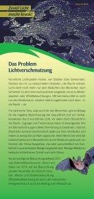 Lichtverschmutzung - Naturfreunde - Seite 2