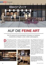 Firmenportrait im DBZ-Magazin August 2012 - H+B Hamelmann und ...