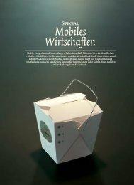 Mobiles Wirtschaften