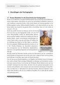 Untersuchung an Zylinderprojektionen und die Berechnung des ... - Seite 7