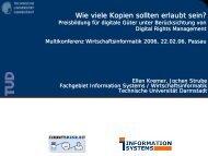 Download der Präsentation (PDF, 293 KB) - Zukunftsmusik.net