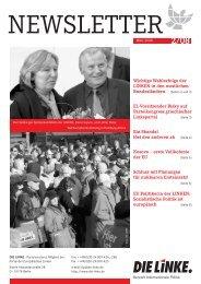 Newsletter DIE LINKE 2-2008