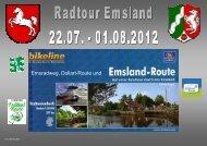 Emsradweg, Dollart-Route und