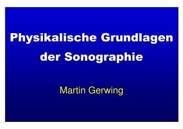 Physikalische Grundlagen der Sonographie (PDF ca. 1.0 Mb)
