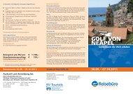 30.09. - 07.10.2013 - Reisebüro der VR-Bank Uckermark-Randow eG