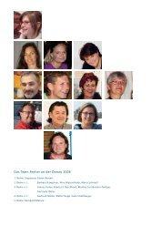 Das Team Atelier an der Donau 2008 - International Art Symposium ...