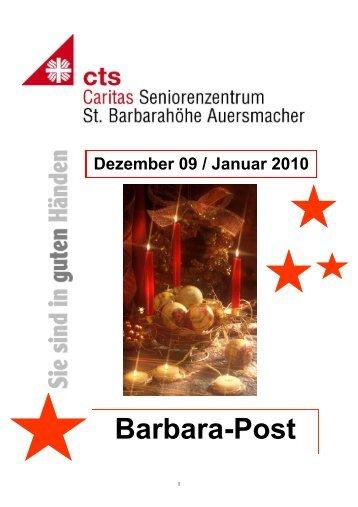 HZ St.B Dez. und Januar 10 - Caritas Seniorenzentrum St ...