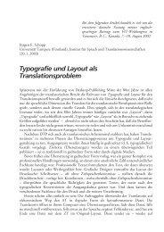 Jürgen F. Schopp: Typografie und Layout als Translationsproblem
