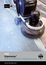 Konzeptbroschüre für HTC Superprep™ in deutscher Sprache