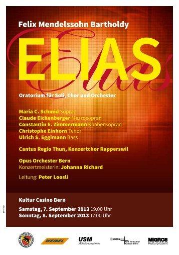 Felix Mendelssohn Bartholdy - Konzertchor-Rapperswil