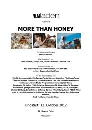 MTH PRESSEHEFT FL - More than Honey