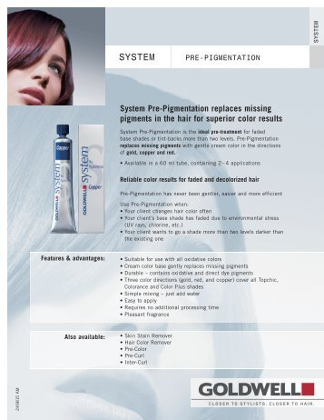 249815 Pre Pigment AM - Goldwell