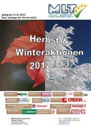 gültig bis 31.01.2013 bzw. solange der Vorrat reicht - Mitterndorfer ...