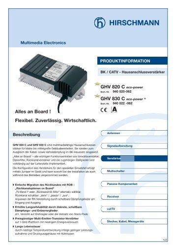 Datenblatt - H+E Dresel