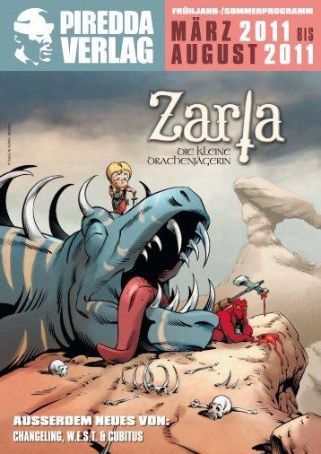 märz 2011 bis August 2011 - Piredda Verlag