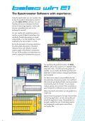 The star of the new desktop spectrometer class: BELEC ... - belec.de - Page 5