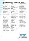 The star of the new desktop spectrometer class: BELEC ... - belec.de - Page 6
