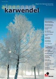 APK Magazin 12/2006.xpr - Alpenpark Karwendel