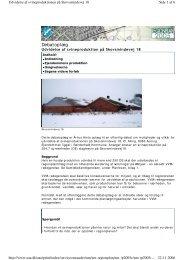Udvidelse af svineproduktion på Skovsmindevej 18 - Naturstyrelsen