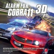 Cobra 11 3D - Alarm für Cobra 11