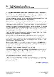 2. Die Elly-Heuss-Knapp-Schule – Städtische Realschule in Gütersloh