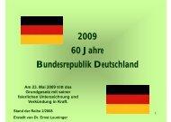 60 Jahre Bundesrepublik Deutschland (Vortrag pdf ... - Leuninger