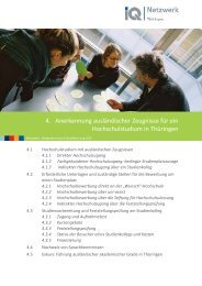4. Anerkennung ausländischer Zeugnisse für ein Hochschulstudium ...
