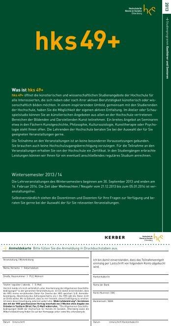 Was ist hks 49+ Wintersemester 2013 / 14 - (HKS), Ottersberg