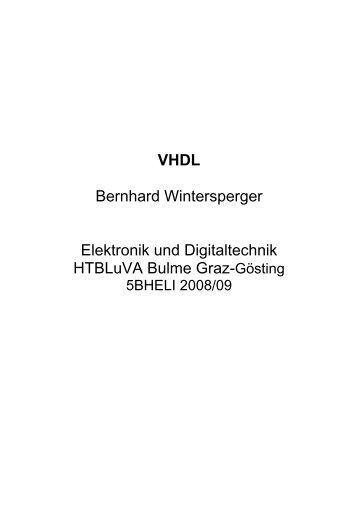 VHDL Einführung