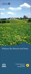 6 Rollups - Biosphärenreservat Vessertal-Thüringer Wald