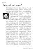 unimagazin 3/2000_Risiko und Sicherheit. Zwischen Kalkül ... - Planat - Seite 2