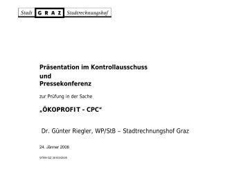 Cleaner Production Center Austria (CPC) - STENUM GmbH