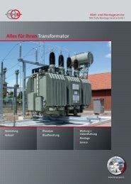 Alles für Ihren Transformator - ABE Gruppe
