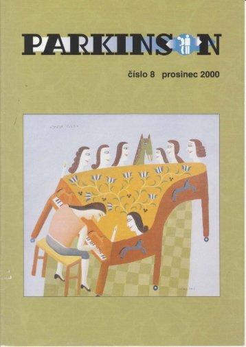 Časopis Parkinson č.8 - Společnost Parkinson, os