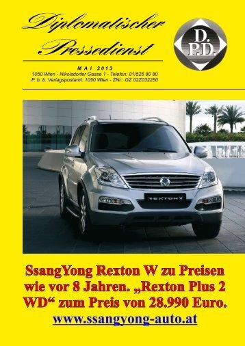 zum Preis von 28.990 Euro. www.ssangyong-auto.at