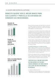 BANESTO QUIERE SER EL MEJOR BANCO PARA SUS CLIENTES Y